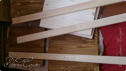 Мастер-класс Поделка изделие Выжигание по дереву Моделирование конструирование Этажерка своими руками от начала до конца  Дерево Краска фото 3