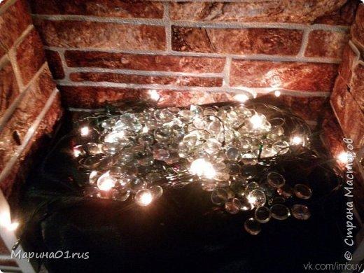 Новогодний камин своими руками фото 7