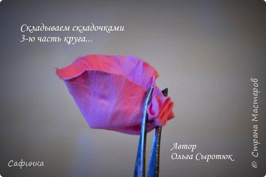 """Доброе время суток,мои дорогие! И вот снова, я Ольга Сыротюк с Вами! Сегодня представляю Вашему вниманию Мастер класс по созданию цветков """"Волнушки"""" из Фоама ... и Крепление атласн.ленты к ободку... Да, решила я сегодня отойти не много от реалистичности цветов...и предлагаю по фантазировать, по быть не много дизайнерами... В обработке венчиков, тоже Америку не открыла...данный способ давно всем известен, для тех кто занимался или занимается  цветами из ткани или атласных лент...Обжигание при помощи свечи или зажигалки... В МК показываю способ придание """"Волнушек"""" при помощи зажигалки... В итоге получился дизайнерский, нарядный, нежный  и в тоже время простой ободок....для Ваших очаровательных принцесс... К МК прилагаю видео с музыкальным сопровождением для вдохновения...  Приятного просмотра! фото 12"""