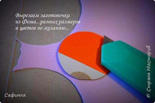 """Доброе время суток,мои дорогие! И вот снова, я Ольга Сыротюк с Вами! Сегодня представляю Вашему вниманию Мастер класс по созданию цветков """"Волнушки"""" из Фоама ... и Крепление атласн.ленты к ободку... Да, решила я сегодня отойти не много от реалистичности цветов...и предлагаю по фантазировать, по быть не много дизайнерами... В обработке венчиков, тоже Америку не открыла...данный способ давно всем известен, для тех кто занимался или занимается  цветами из ткани или атласных лент...Обжигание при помощи свечи или зажигалки... В МК показываю способ придание """"Волнушек"""" при помощи зажигалки... В итоге получился дизайнерский, нарядный, нежный  и в тоже время простой ободок....для Ваших очаровательных принцесс... К МК прилагаю видео с музыкальным сопровождением для вдохновения...  Приятного просмотра! фото 4"""