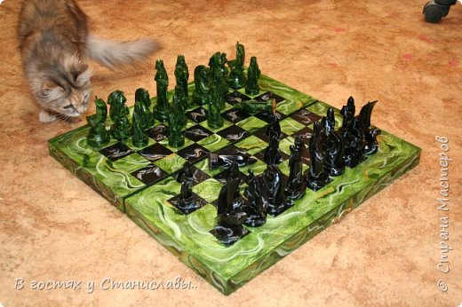 Мои малахитовые шахматы фото 9