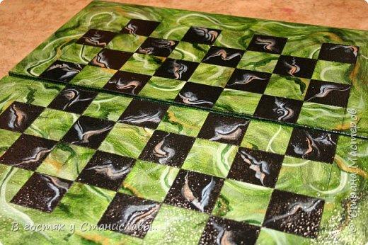 Мои малахитовые шахматы фото 4