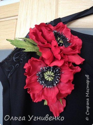Приветствую всех жителей и гостей прекрасной СТРАНЫ МАСТЕРОВ!!  Предлагаю Вашему вниманию мой небольшой МК по изготовлению розы из фоамирана.  Изрезав не один лист фома, хочу поделиться своими особенностями работы с этим увлекательным материалом. фото 27