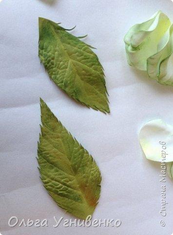 Приветствую всех жителей и гостей прекрасной СТРАНЫ МАСТЕРОВ!!  Предлагаю Вашему вниманию мой небольшой МК по изготовлению розы из фоамирана.  Изрезав не один лист фома, хочу поделиться своими особенностями работы с этим увлекательным материалом. фото 18