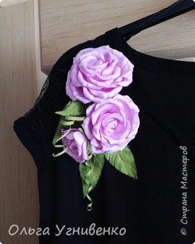 Приветствую всех жителей и гостей прекрасной СТРАНЫ МАСТЕРОВ!!  Предлагаю Вашему вниманию мой небольшой МК по изготовлению розы из фоамирана.  Изрезав не один лист фома, хочу поделиться своими особенностями работы с этим увлекательным материалом. фото 26