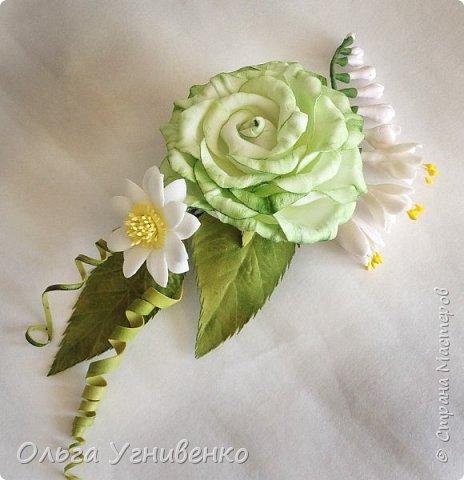 Приветствую всех жителей и гостей прекрасной СТРАНЫ МАСТЕРОВ!!  Предлагаю Вашему вниманию мой небольшой МК по изготовлению розы из фоамирана.  Изрезав не один лист фома, хочу поделиться своими особенностями работы с этим увлекательным материалом. фото 1