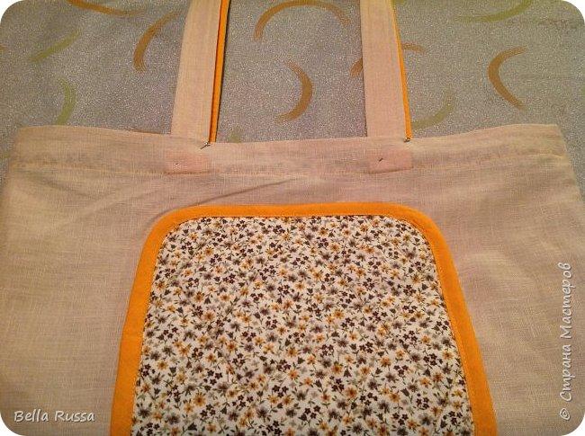 Здравствуйте, дорогие соседи!  Хочу поделиться опытом пошива вот такой сумки-трансформера с большим красивым карманом. Первая партия (http://stranamasterov.ru/node/939505) оказалось очень популярной, разлетелась быстро, и пока шила новые сумочки, решила заснять процесс, тем более, что многих он заинтересовал.  Итак, будем шить нарядную сумку трансформер, процесс несложный, но трудоемкий и времязатратный за счёт красивостей, поэтому буду оговаривать, где можно сократить усилия, если нужна просто функциональная вещь.  фото 12