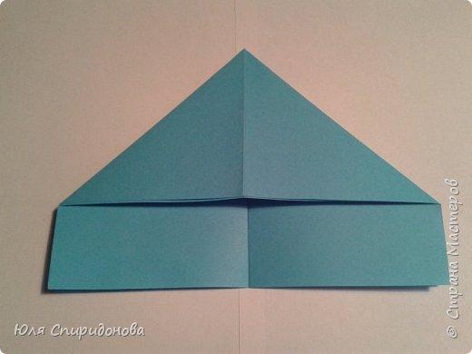 Этот модуль складывается из прямоугольника цветной или белой бумаги. Такие прямоугольники можно получить делением формата А4 на равные части. Как показано ниже или же начертить определенный размер. фото 6