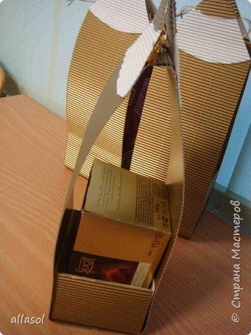 Сумочка для упаковки коробки конфет. фото 9
