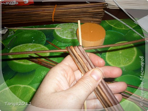 Мастер-класс Поделка изделие Декупаж Моделирование конструирование Плетение Африканочки Вариации на тему Бумажные полосы фото 8