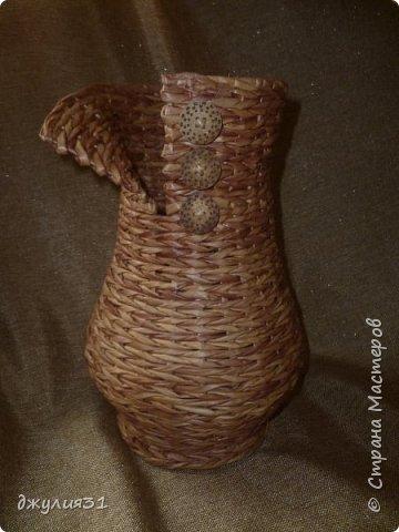 """каждая новая вазочка-джемпрок получается со своим """"характером"""", как бы я не старалась их плести одинаковыми фото 8"""