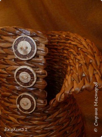 """каждая новая вазочка-джемпрок получается со своим """"характером"""", как бы я не старалась их плести одинаковыми фото 7"""