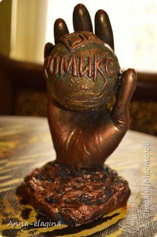 Здравствуйте жители Страны Мастеров! Сегодня я вам хочу показать сувенир сделанный своими руками в подарок почетному строителю России (моему свекру), на день строителя. фото 2