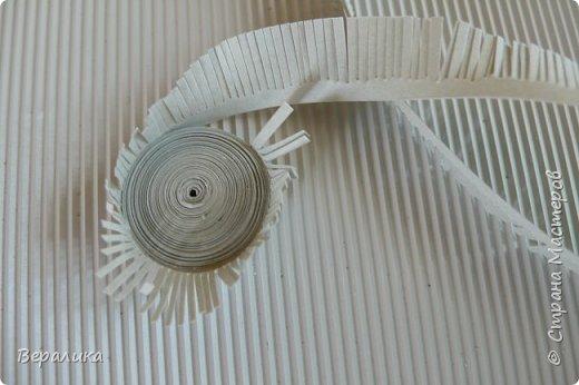 Хочу показать вам как я делала серую обезьянку. Ее размер: 10см, а с хвостиком-бантиком -11см. Нам понадобятся самые простые и доступные материалы: -Обычная офисная бумага (розовая, серая и коричневая) из которой можно нарезать полоски разной ширины и стандартной длины 29,5см; -гофробумага любого цвета ( желательно в тон обезьянки: у меня не было серой, взяла коричневую); -флористическая проволока ( у меня №9); -ножнички для нарезки бахромы; -клей ПВА и Момент прозрачный ( если кто любит собирать на клеевой пистолет, то приготовьте его вместо клея Момент); фото 5