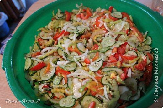 Кулинария Мастер-класс Рецепт кулинарный Салат Нежинский с помидорами без стерилизации на зиму Продукты пищевые фото 3