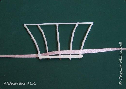Картина панно рисунок Мастер-класс Квиллинг Плетение МК корзинки Бумага Бумага гофрированная Бумажные полосы Ленты фото 3