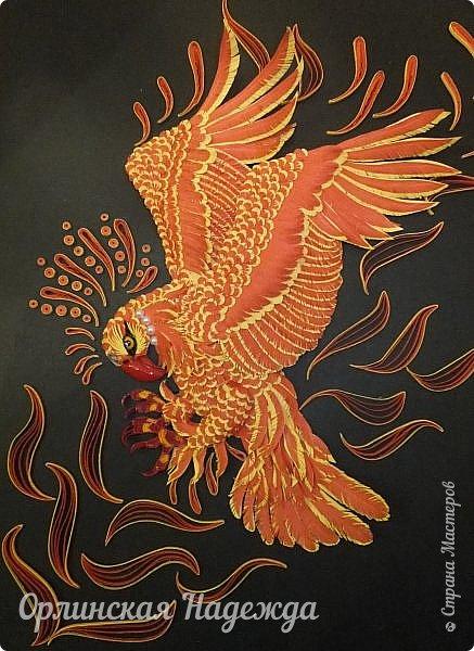 Феникс - мифологическая птица, обладающая способностью сжигать себя и затем возрождаться из пепла. Считалось, что Феникс имеет внешний вид, похожий на орла с ярко-красным или золотисто-красным оперением. В раннем христианстве Феникс постоянно встречается на погребальных плитах: здесь его значение - победа над смертью, воскресение из мёртвых. На Руси у Феникса были аналоги: Жар-птица и Финист.