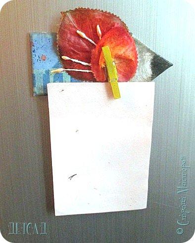Этот магнитик выполнен из палочек от мороженого ;) фото 10