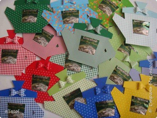 Сделала чайники - сувениры для одного пакета чая. фото 20