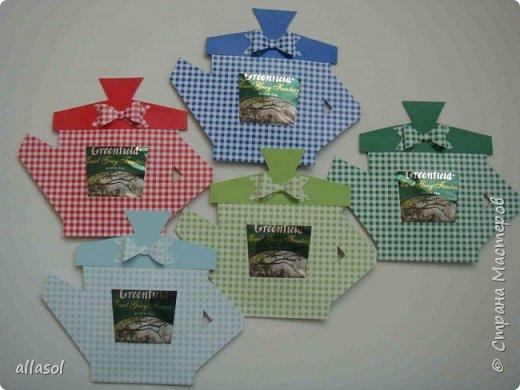 Сделала чайники - сувениры для одного пакета чая. фото 3