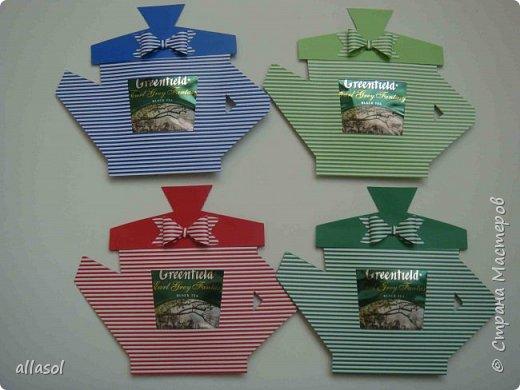 Сделала чайники - сувениры для одного пакета чая. фото 4