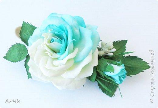 Такую розу сделала по МК Марины Хвалевой. фото 3