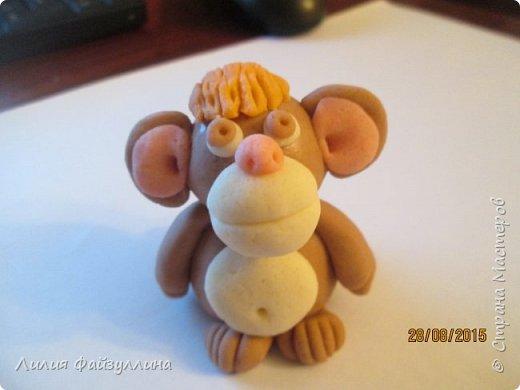 Поделки из соленого теста с обезьяной