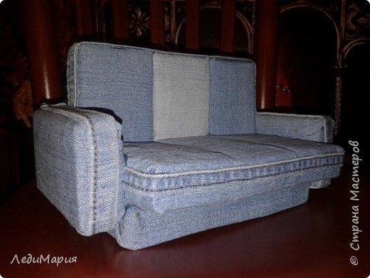 Кукольный диванчик