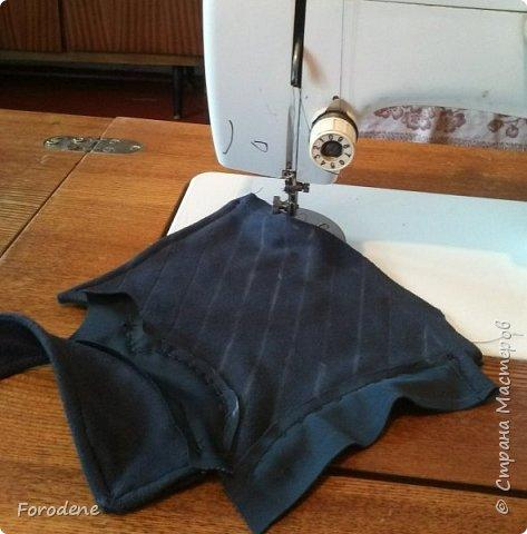 Добрый день. Я хочу вам показать, как можно сделать «кожаные» наручи. фото 5