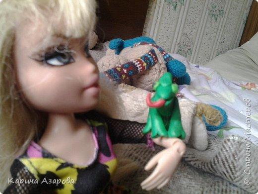 Привет, нашла фото где я сделала амелина из пластелина. фото 2