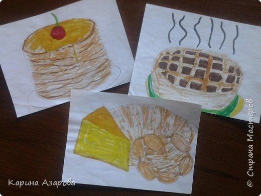 """Здравствуйте! Нашла рисунки которые рисовала год назад.  Рисунок """"Кролик на полянке"""" (чуть-чуть кто-то накапал). фото 3"""
