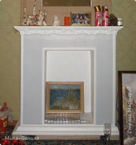 Мастер-класс Поделка изделие Праздник осени Папье-маше Камин к Рождеству 3 Шотландская гостиная Бумага Дерево Картон фото 3