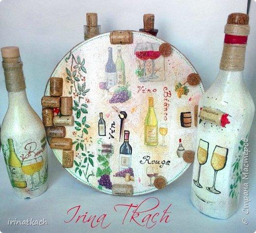 Часы и бутылки на заказ