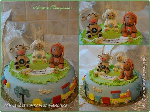 Детские тортики фото 1