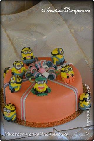 Детские тортики фото 7