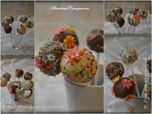 Капкейки и кейк-попсы фото 7