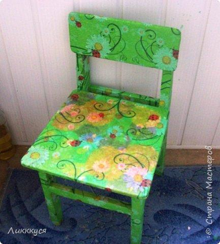 стул для дочери  фото 1
