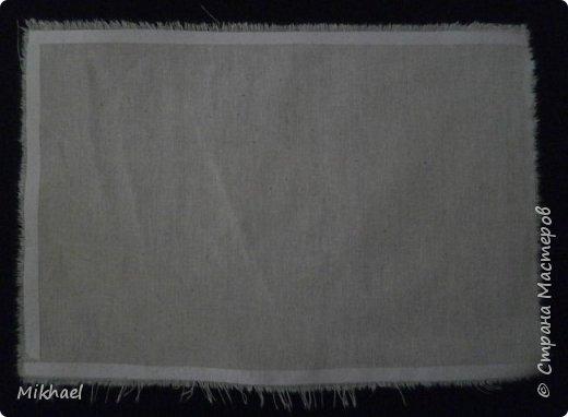 Хочу поделиться способом как произвести печать на ткани обычным струйным принтером и как с помощью этого сделать разметку для вышивки на обычной ткани. фото 3