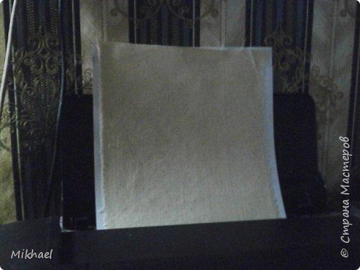 Хочу поделиться способом как произвести печать на ткани обычным струйным принтером и как с помощью этого сделать разметку для вышивки на обычной ткани. фото 7