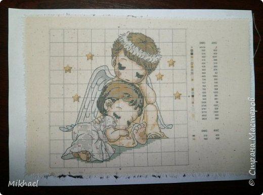 Хочу поделиться способом как произвести печать на ткани обычным струйным принтером и как с помощью этого сделать разметку для вышивки на обычной ткани. фото 11