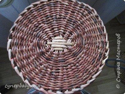 Мастер-класс Поделка изделие Плетение Дно  по вашим просьбам Трубочки бумажные фото 1