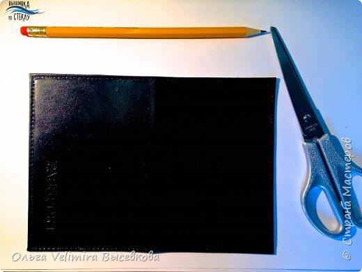 Декор предметов Мастер-класс Роспись МК ОБЛОЖКА ДЛЯ ПАСПОРТА ТУРЕЦКИЙ КОВЕР Кожа Краска фото 2