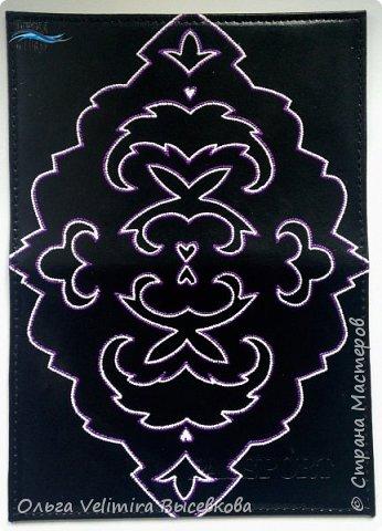 Декор предметов Мастер-класс Роспись МК ОБЛОЖКА ДЛЯ ПАСПОРТА ТУРЕЦКИЙ КОВЕР Кожа Краска фото 14