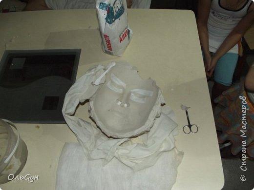 Баба Яга. Маска из силикона фото 9