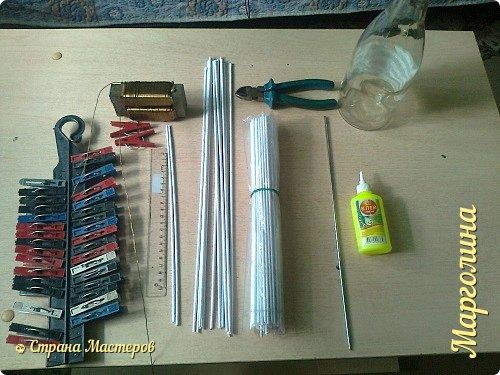 Кукольная жизнь Мастер-класс Поделка изделие Плетение Кукольная плетеная мебель выпуск первый Бумага Трубочки бумажные фото 3