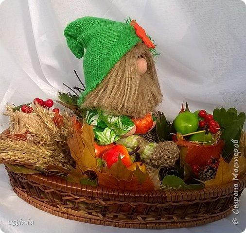 Поделка на праздник дары осени