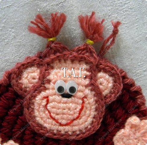 Мастер-класс Поделка изделие Новый год Вязание крючком Новый год к нам мчится  Нитки Пряжа фото 35