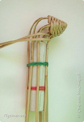 Мастер-класс Поделка изделие Плетение Хорёк и белка Бумага газетная Трубочки бумажные фото 15