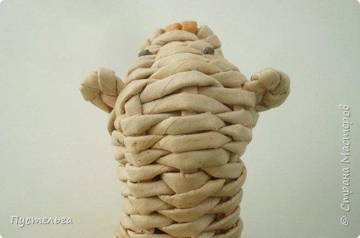 Мастер-класс Поделка изделие Плетение Хорёк и белка Бумага газетная Трубочки бумажные фото 25