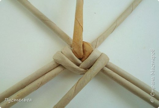 Мастер-класс Поделка изделие Плетение Хорёк и белка Бумага газетная Трубочки бумажные фото 9